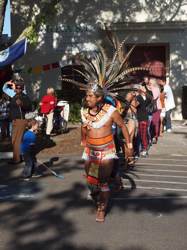 danza azteca coyoxauhqui at our open house event