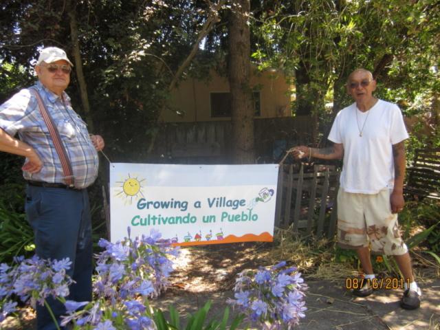 neighborhood elders support the young folk